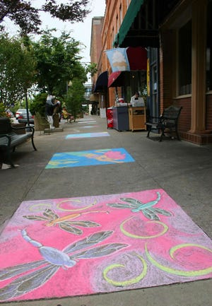 This year is the 25th anniversary of Chalk It Up! in downtown Hendersonville.