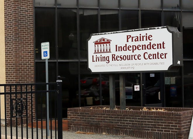 The Prairie Independent Living Resource Center in Hutchinson.