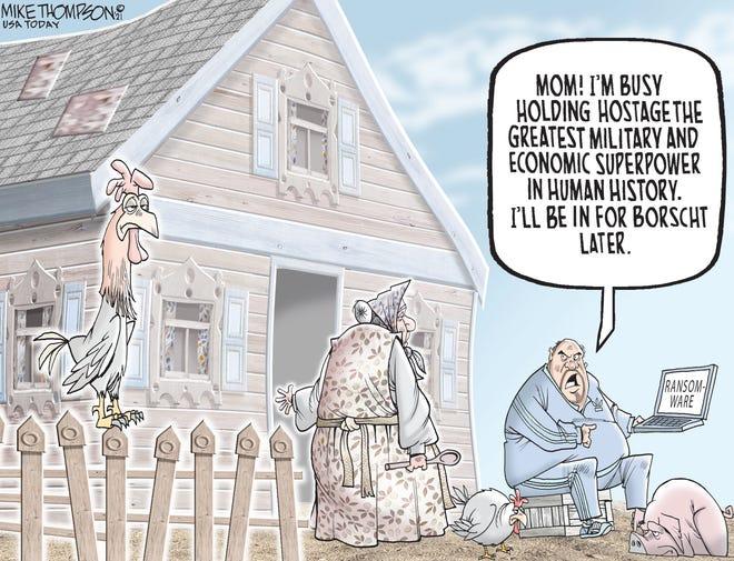 Today's editorial cartoon (July 15, 2021)