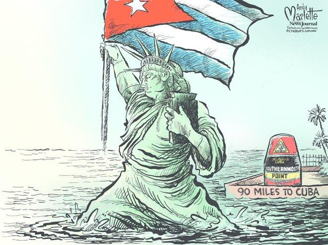 Today's editorial cartoon (July 14, 2021)