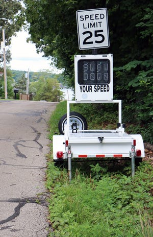 Donations are being asked for the purchase of a speed trailer to help deter speeding in Lake Ozark.