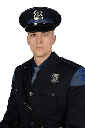 Detective Sgt. Daniel Drewyor of the Monroe Post of the Michigan State Police was awarded The Citation for Bravery for his lifesaving efforts on duty.