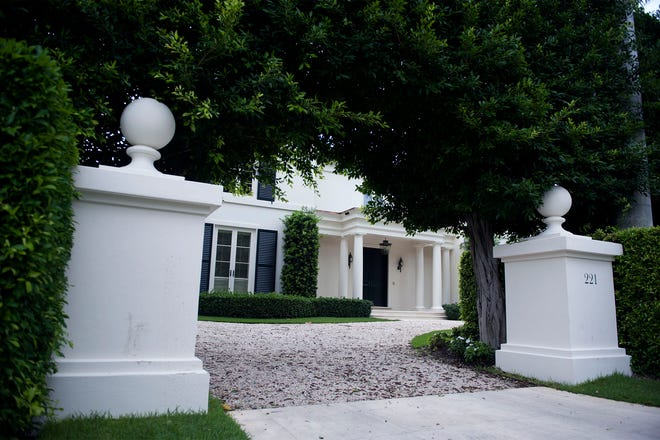 This custom home has sold for a reported $17.25 million at 221 El Vedado Road in Palm Beach.