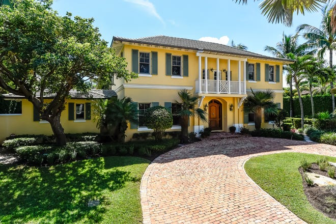 Dr. Richard and Veronica R.S. Bauer have sold their home at 308 Arabian Road on the far North End for a recorded $7.53 million.
