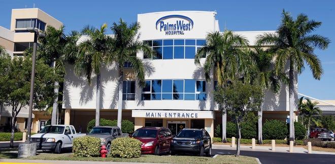 Palms West Hospital near Royal Palm Beach