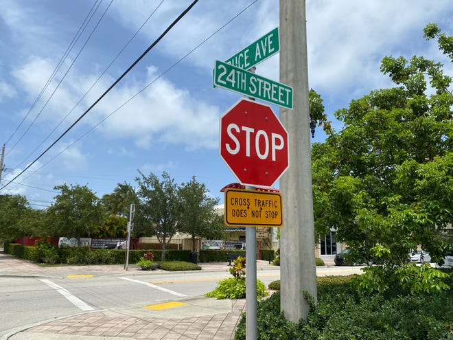 More stop signs will be installed at the intersection of Spruce Avenue and 24th Street, which has been the site of recent accidents.