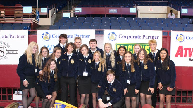 Thirty-three Stephenville FFA members were recognized at the 2021 Texas FFA State Convention in Fort Worth held July 5-9.