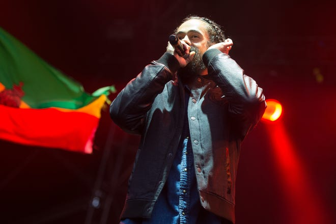 """Damian """"Jr. Gong"""" Marley – seen here performing at the 2016 The Meadows Music and Arts Festivals at Citi Field on Saturday, Oct. 1, 2016, in Flushing, New York – will serve as a headliner at Reggae Rise Up."""