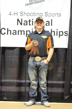 One Pottawatomie County 4-H member who made the trip to Nebraska was Colton Ingersoll of Bethel.