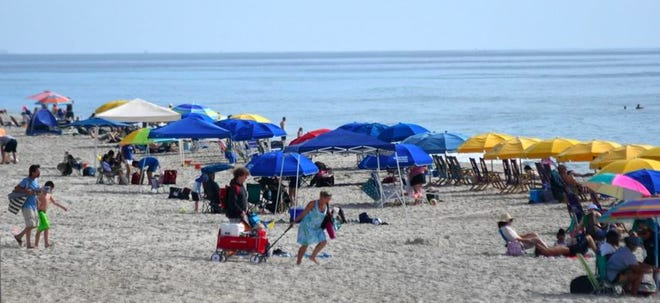 Man dies in the water at Carolina Beach on Monday.