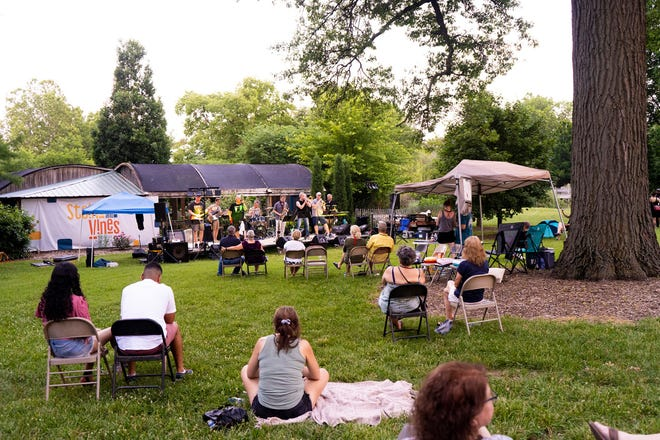 Steins and Vines is a recurring fundraiser the Topeka Zoo holds to raise money for its animals and programming. The event features live music, food trucks and beer.