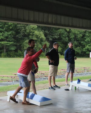 Gameplay from Boys & Girls Clubs of Metro South's 2019 Cornhole Tournament of Champions.