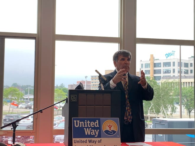 Tim Garvin,president and CEO of the United Way of Central Massachusetts.