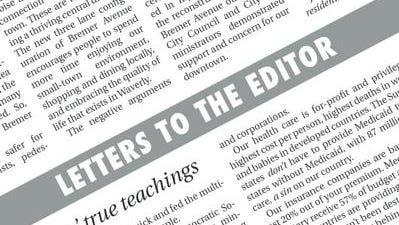Letter: Disappointment in decision to post the rainbow flag