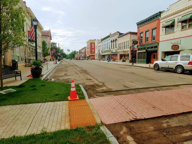 Paving work on Main Street in the Village of Wellsville is expected to get underway Tuesday after a delay.