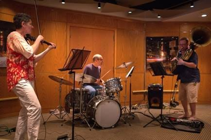 Mimi Rabson and her Triarky Trio will perform in Watertown Square on Aug. 7.