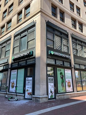 Green District, a made-to-order salad and wrap restaurant will open Downtown on Fountain Square later this year.