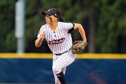 Three-time Big Ten Player of the Year Sierra Romero is in her sixth season with the USSSA Pride.