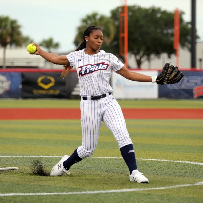 Odicci Alexander was a breakout star at the Women's College World Series this spring. She's now on the USSSA Pride.