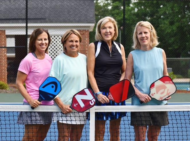 From left, Nancy Strausseau, Jay Dupree, Nancy Bennett and Nancy Foreman.