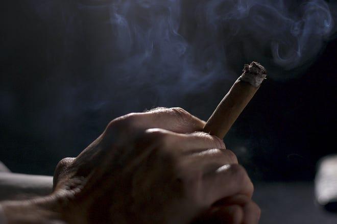 Cigar smoker.