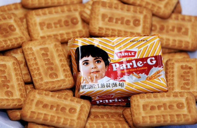 Les cookies Parle-G sont vus chez Indian Groceries and Spices à Wauwatosa.