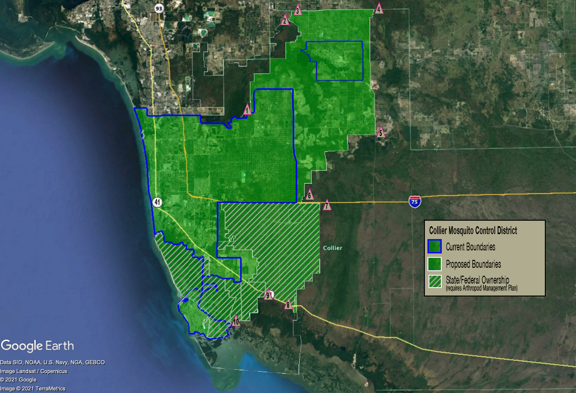 Collier leaders to reconsider mosquito control boundary expansion over legal, ecologic concerns