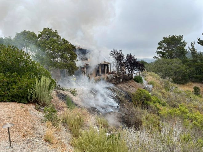 Monterey County first responders are investigating a plane crash that was reported Tuesday, July 13, 2021.