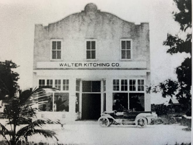 Walter Kitching Co. building.
