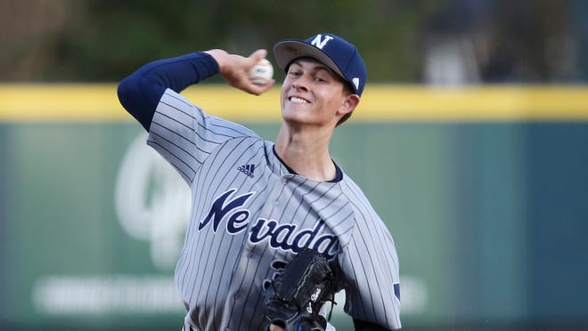 Simi Valley High graduate Owen Sharts, who starred on the mound at the University of Nevada, was selected in the 13th round by the Pirates.