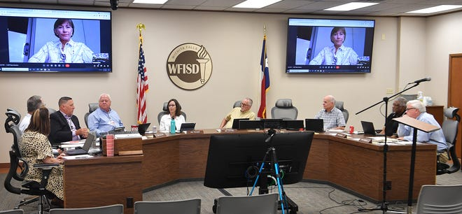 The Wichita Falls ISD Board of Trustees met in a special session Tuesday to discuss the upcoming school year and precautions against COVID-19.