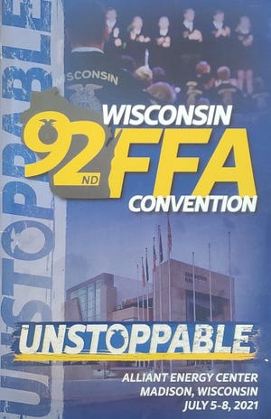 """This year's theme of the 92nd Wisconsin FFA Convention was """"Unstoppable""""."""