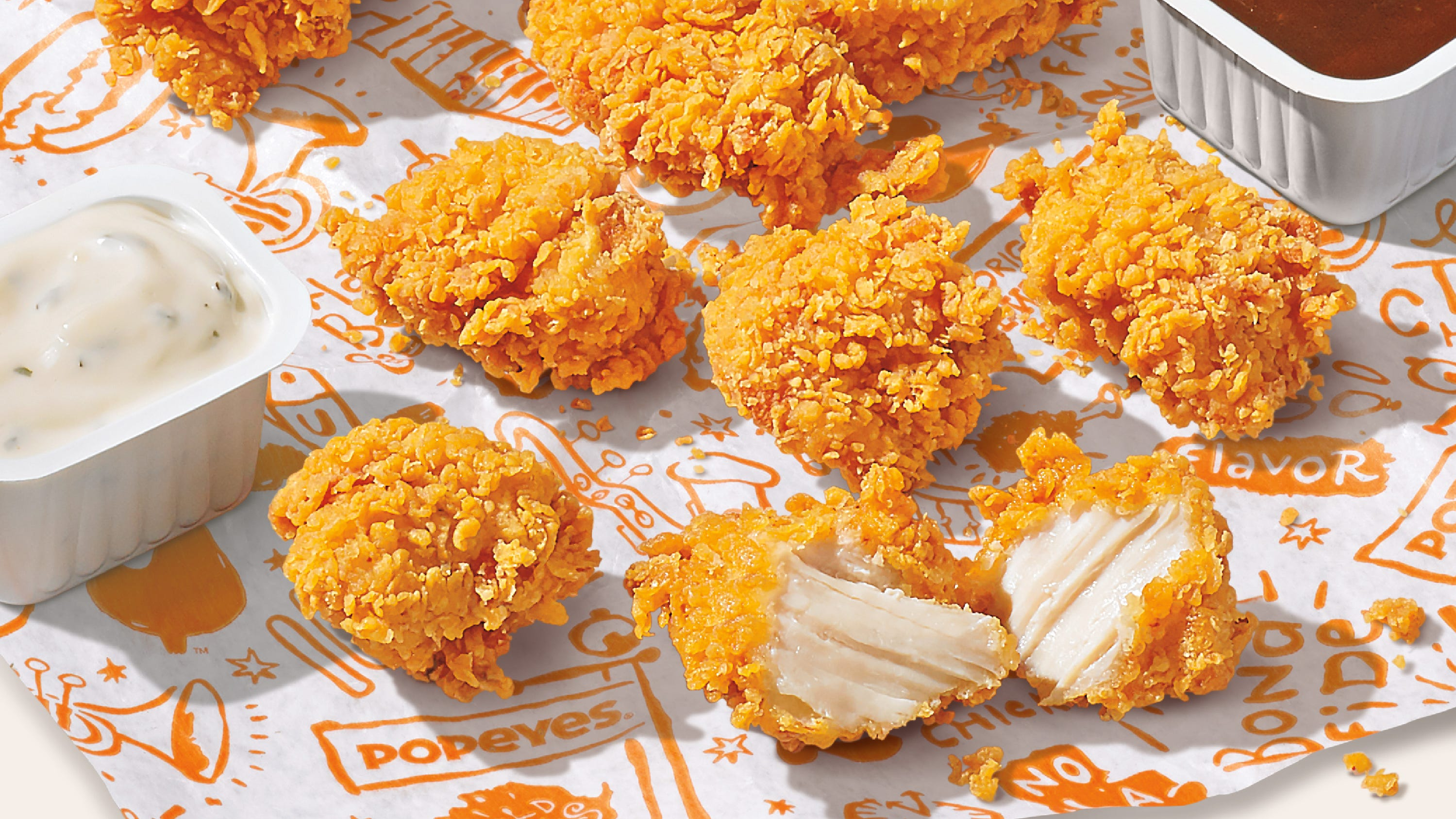 Popeyes chicken nuggets are here, plus where to find deals for Chicken Tender Day Tuesday, Wing Day Thursday
