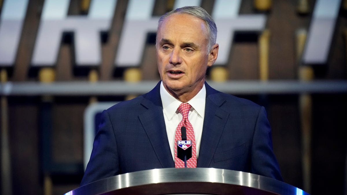 Rob Manfred explains how MLB's Field of Dreams game came to be