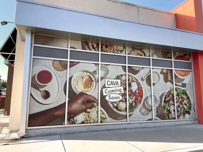 Cava Mediterranean restaurant in Athens is currently under construction in the former Zoe's Kitchen location at 145 Alps Road.