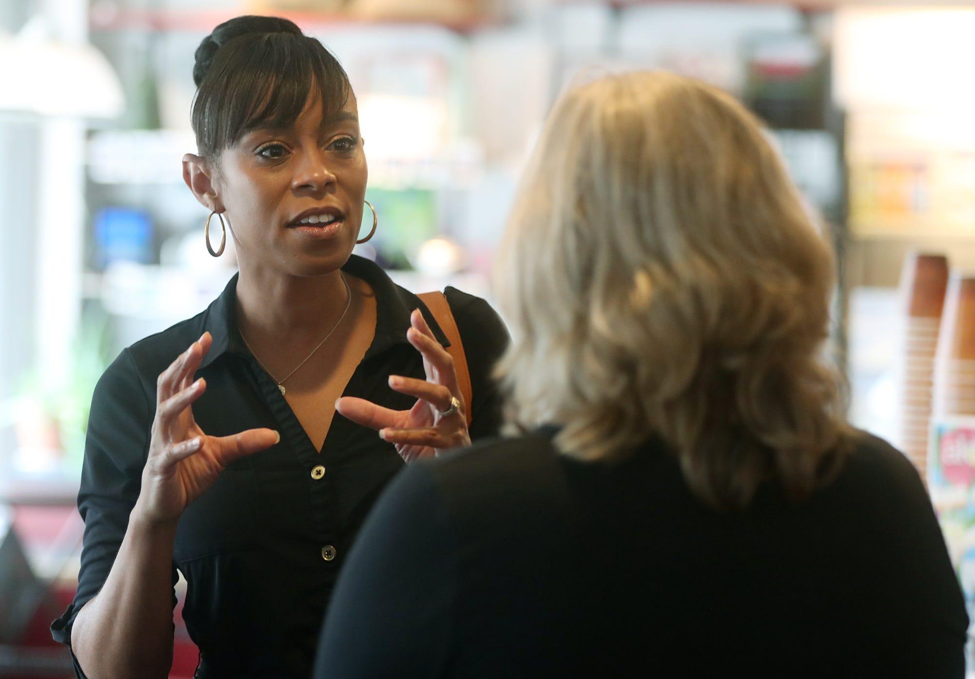 Establishment-backed Democrat Shontel Brown defeats progressive Nina Turner in Ohio House race