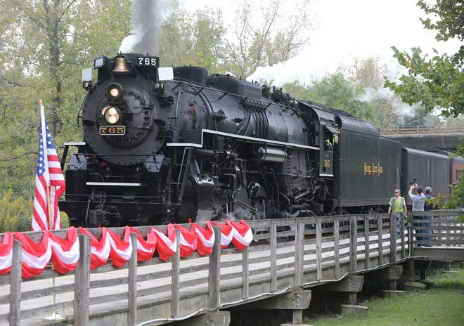 Cuyahoga Valley Scenic Railroad's Steam in the Valley event begins Friday.