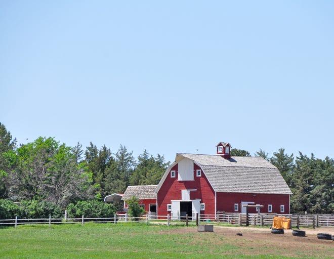 Red barn near Burlington.