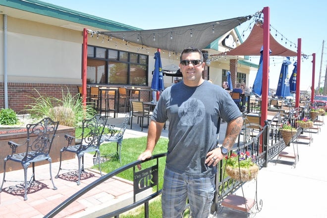 Ezra Gutierrez brought diverse culinary experiences back to his hometown of Burlington when he reopened a former steakhouse as the more contemporary Dish Room in 2016. He and his family's construction and landscaping talents are evident in the unique decorative touches on the property, including a rustic outdoor patio with custom-made metal fire pit. He is now working to duplicate the business model in other eastern plains communities.