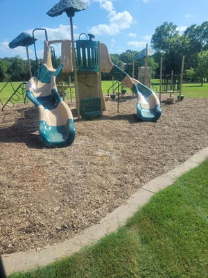 Families in Charleston can now enjoy the recent improvements to the playground, which provides a safer and cleaner area for children.