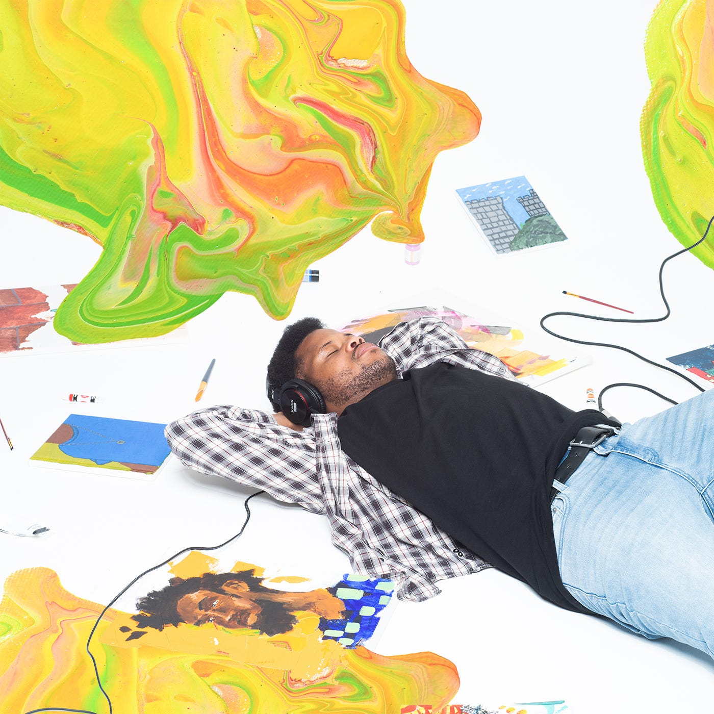 Daily Distraction:  Paint  with Columbus MC Joey Aich