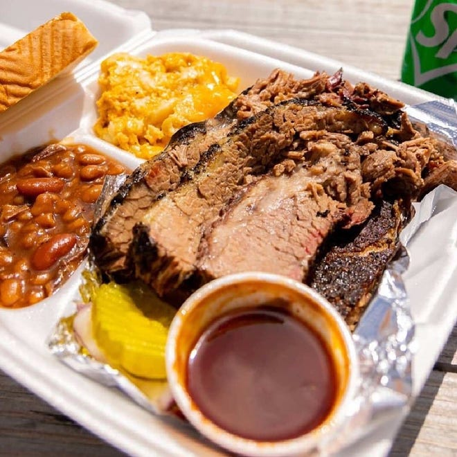 Barbecue from Texas Steele BBQ