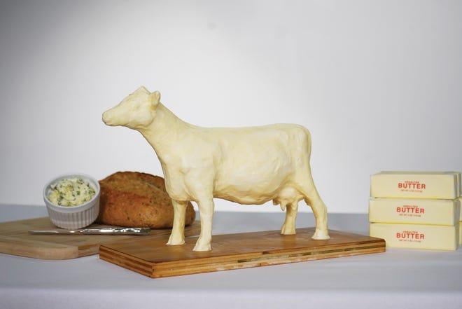 A DIY Butter Cow
