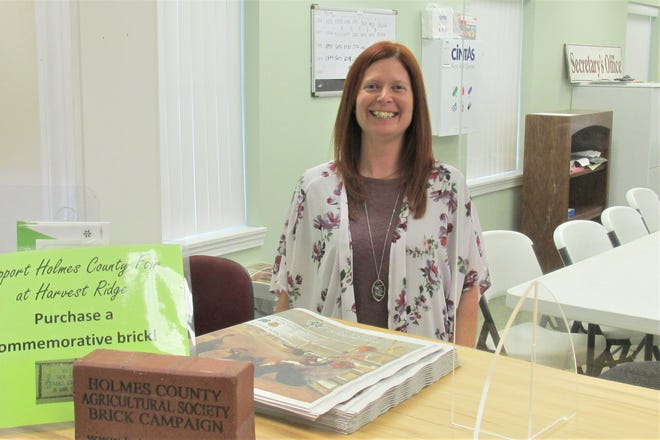 Mandy Troyer is the new treasurer of the Holmes County Fair Board, taking over for the late Gail Cochran.  Troyer is a bookkeeper at Rea & Associates.