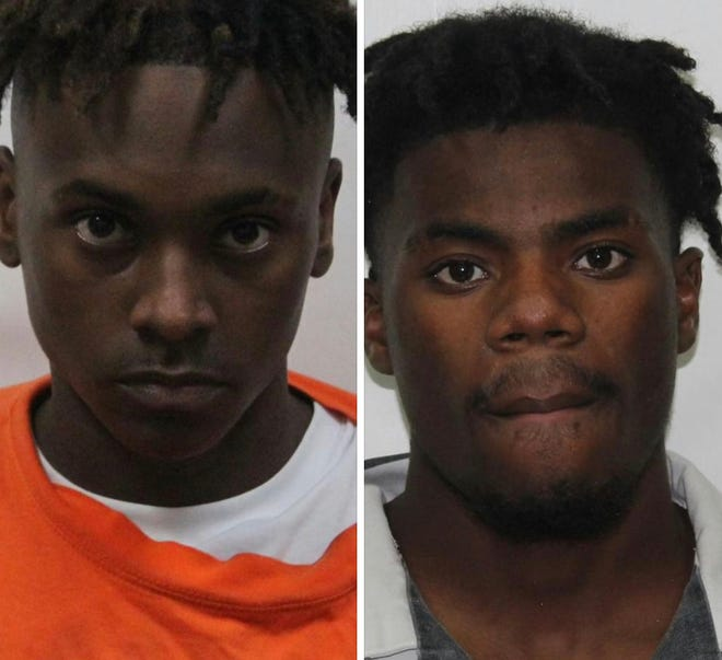 Kyron K. Thompson and Joshua L. Washington were arrested in connection with a drive-by-shooting which occurred July 7.
