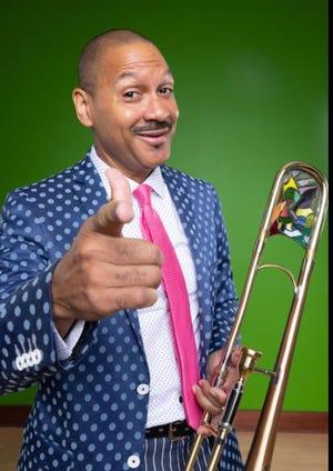 Jazz trombonist Delfeayo Marsalis / Contributed image