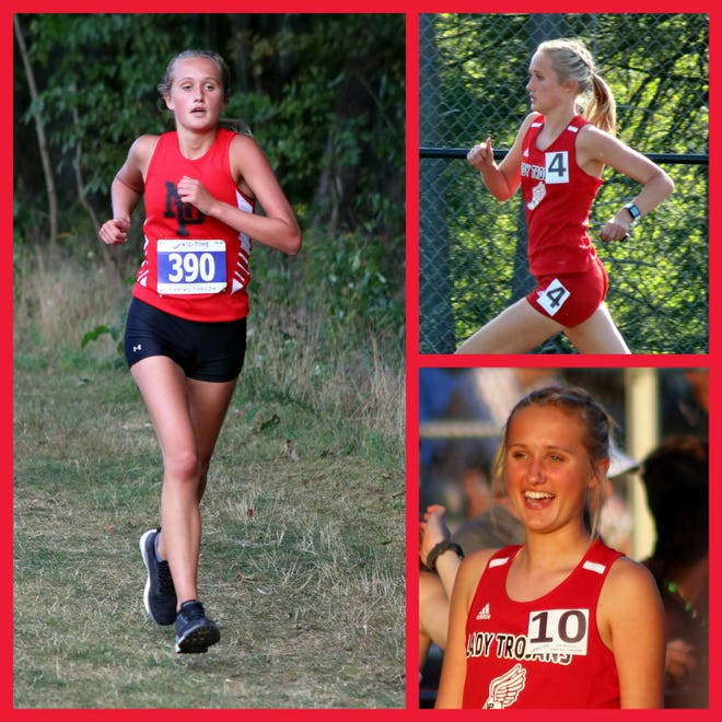 North Pocono's Emily Franklin wrapped up a successful sophomore year by placing highly at both the PIAA District 2 Cross Country and Track and Field finals. Now a junior, she anticipates solid seasons for the Lady Trojans in both sports with many veteran runners returning and talented others making the move up from junior high.