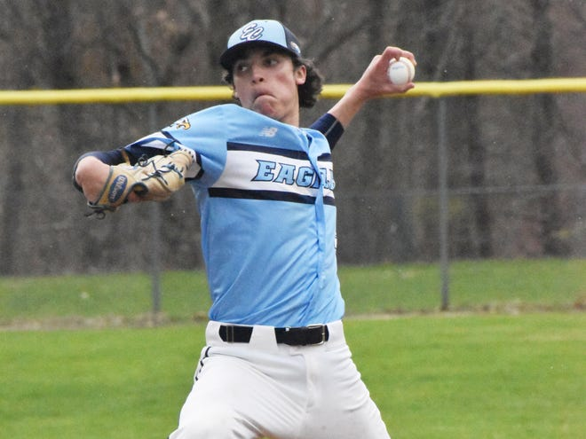 Frank Mozzicato of East Catholic High in Connecticut threw four consecutive no-hitters this spring and his MLB Draft status skyrocketed all the way to a No. 7 overall pick by the Royals.