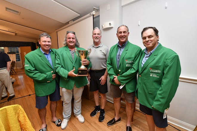 The 2021 winning foursome came in 18 under par and was represented by Chad Kageleiry (Summit Land Development), John Sullivan (Summit Land Development), Larry Raiche (Raiche & Company, CPAs) and Brett Wilson (Oracle).