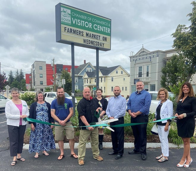 Michael's Gourmet Food Services has recently joined the Dover Chamber and held a ribbon cutting ceremony at the chamber's location in Dover.
